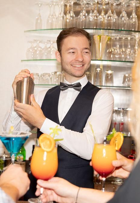 Michael Gerlach Karriere Hotel Gollner Rezeptionist